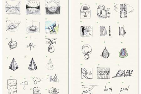 Skizze-Rain